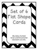 Set of 6 Shape Vocabulary Cards FREEBIE