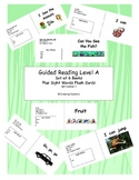 Set of 6 reproducible Guided Reading Level A books and fla