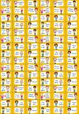 Set of 96 printable Reward Stickers in pdf format