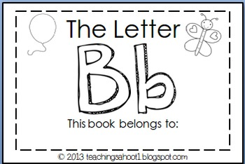 Set of ABC Mini-Books