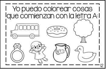 Set of ABC Mini-Books - Spanish