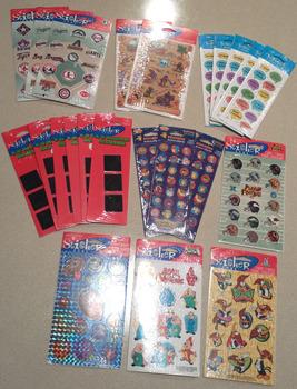 Set of Boys Stickers