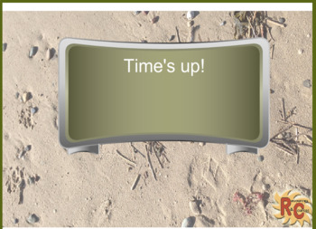 Set of Brown and Green Digital timers