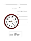 Set of Clock Worksheets: Analog and Digital