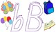 Set of Colour Alphabet Mats