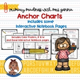 Anchor Charts  - A Year Long Bundle with some Interactive
