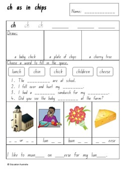 Set of Phonics / Sounds Worksheets - 29 Different Sheets