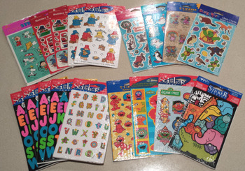 Set of PreK-2 Stickers