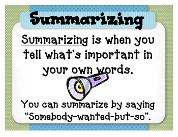 Set Of Reading Comprehension Strategy Posters By April McDonald