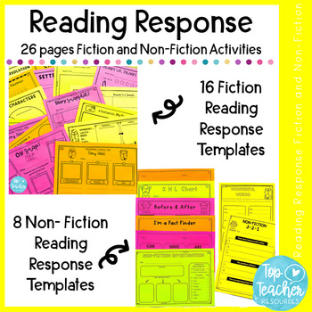 Set of Reading Response Activities