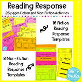 Fiction and Non-Fiction Reading Response Activities