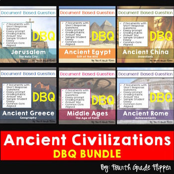 Ancient history teaching resources lesson plans teachers pay bundle of six ancient history document based questions dbq common core aligned fandeluxe Gallery