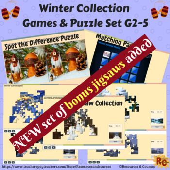 Image of winter Bundle resources