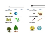 Set of Worksheets to teach COMPARATIVES to younger ESL students.