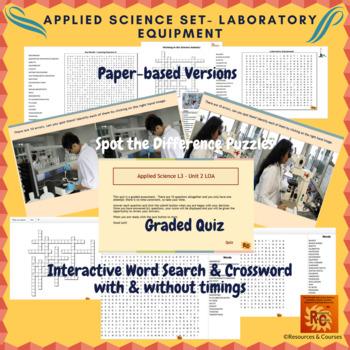 Applied Science Interactive Puzzles & Quiz Bundle