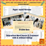 Applied Science Interactive Puzzles & Quiz Bundle 10-12th Graders