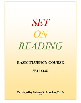 Set on Reading Part 6 Sets 51-62