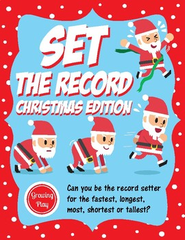 Set the Record Christmas Edition - Classroom Party or Indoor Recess