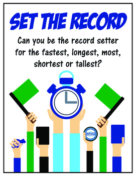 Set the Record - Indoor Recess