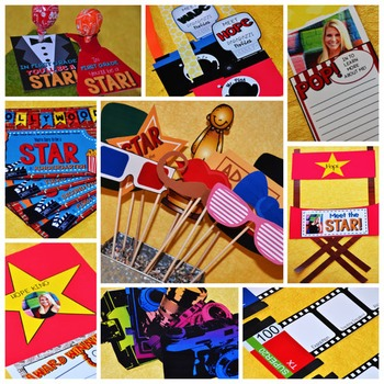 Set the Stage to Engage: First Day {and Week} Activities - Hollywood Theme