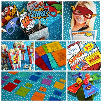 Set the Stage to Engage: First Day {and Week} Activities for Superheroes