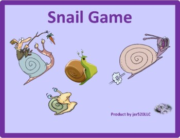 Set the table in English Snail game