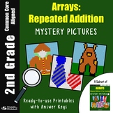 2nd Grade Array, Repeated Addition Mystery Pictures