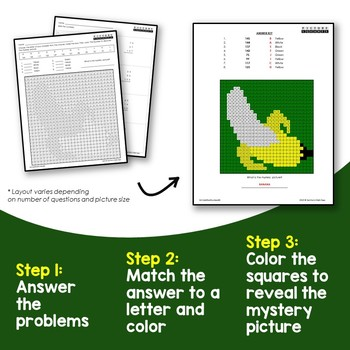 Adding 3 Numbers Worksheets 2nd Grade Math Mystery Picture