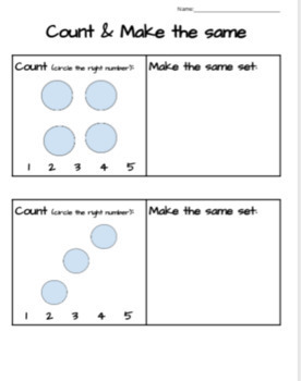 Sets: Counting and Making- A Bundle