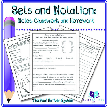 Sets and Notation