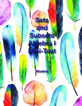 Sets and Subsets - Algebra I High School Math Mini