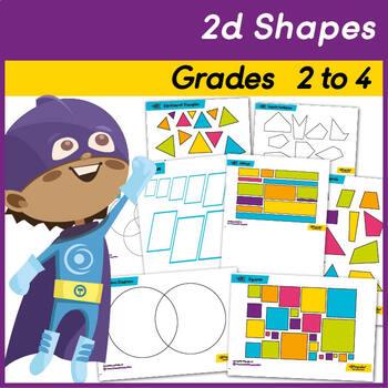 Sets of 2d Shapes