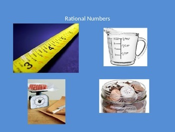 Sets of Numbers Powerpoint