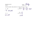 Sets of Numbers WS