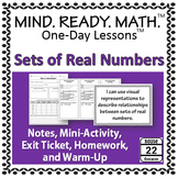 Sets of Real Numbers Notes