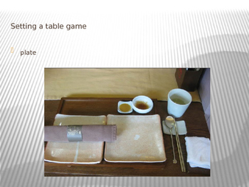 Setting A Table Game