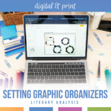 Setting Graphic Organizers for Any Novel or Short Story