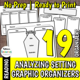 Analyzing Setting - Organizers for Elementary Guided Reading