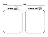 Setting & Character Graphic Organizer