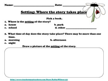 Setting, Character, and Plot Description