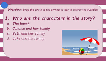 Setting, Characters, Problem, and Solution Interactive Activity