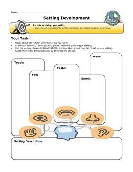 Setting Development Graphic Organizer