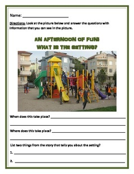 Setting: Differentiated Activity - Common Core