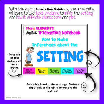Setting - Digital Interactive Notebook for Google Drive