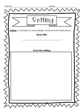 Setting: Draw, Write, Explain