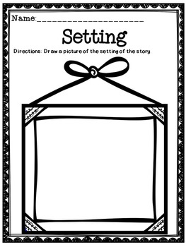 Setting - Free Graphic Organizer