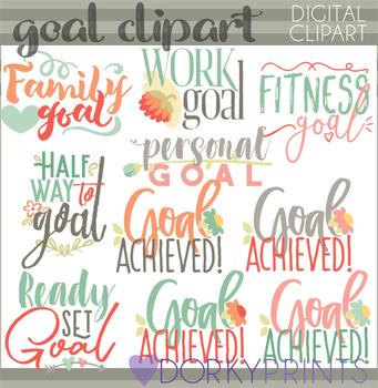 Setting Goals Clipart