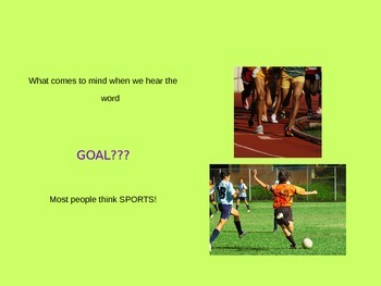 Setting Goals Presentation
