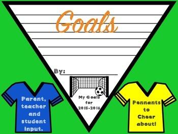 Setting Goals Sports Pennants