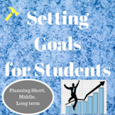 Setting Goals for Students at the Beginning of the Year fo